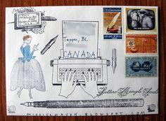 mail art envelope   mailmeart.com
