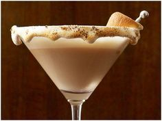 S'mores Martini ~ yes delicious!  I suggest using Kettle One vodka and definitely Godiva Chocolate liquer.  Link to recipe: http://michelebutlerevents.wordpress.com/2012/07/24/cocktails-with-the-consultant-chocolate/