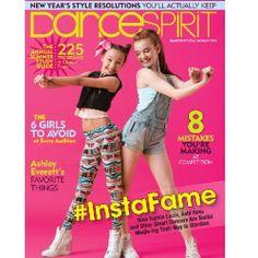 DanceSpirit cover featuring Ashi Ross and Sophia Lucia!