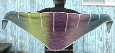 ABC Knitting Patterns - Cliffs of Dover Brioche Shawl