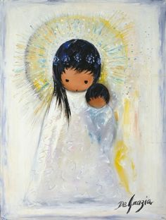 DeGrazia® - Young Madonna - Gallery Print  14 x 10. $19.95