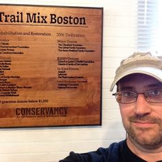 The donor board at Trail Mix Boston