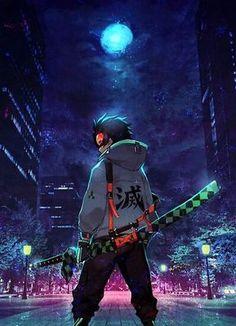 Tanjiro Kamado Demon Slayer Poster by EspressioDesign