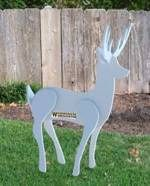 fee plans woodworking resource from WoodworkersWorkshop Online Store - reindeer,knock down,easy storage,Christmas yard art projects,patterns,woodworking plans,woodworkers workshop,blueprints