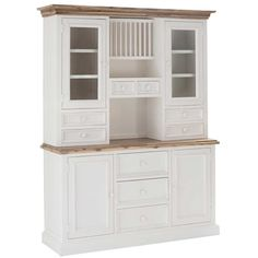 Mansfield Medium Buffet & Hutch - Buffets & Sideboards - Dining