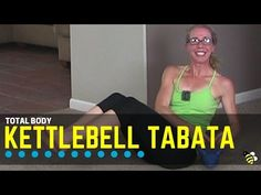 Total Body Kettlebell Tabata Workout - Firm Up Your Abs, Butt and Shoulders Tabata workouts are among the toughest, both physically and mentally, and this sweaty 30-minute kettlebell video is the perfect challenge for women who want to step up their game.  This workout is designed to shape up your shoulders, abs and glutes with complex strength training moves performed at high intensity in a fast-paced workout.