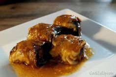 rolakia melitzanas me soutzoukakia Greek Recipes, Meat Recipes, Recipies, Greek Dishes, Main Dishes, Mediterranean Recipes, Diet, Chicken, Cooking