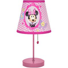 @wm good for late night feedings Disney Minnie Mouse Table Lamp