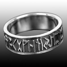 Anello rune vichingo