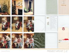 Project Life Charlie December - Main Kit Only by charmer at Studio Calico