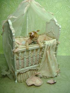"2.5"" Miniature Soft Body Baby by Morena Ciambra - Dreamartdolls"