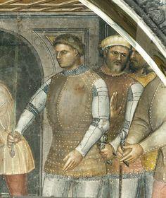Cathedral of Padua, 1376. fresco by Giusto de' Menabuoi