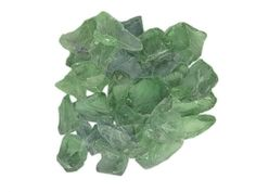 Recycled glass rocks for landscaping