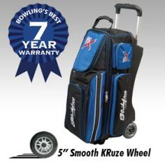 KR Strikeforce Royal Flush Triple Bowling Bag