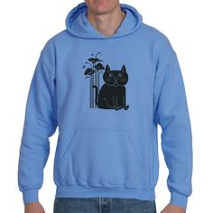 The cat - comfy hoodie (no seriously, these hoodies are crazy comfy)