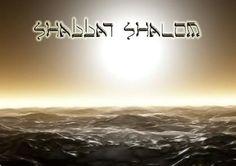 Shalom of the Sabbath