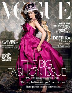 Bollywood, Tollywood & Más: Deepika Vogue Photography Prasad Naik
