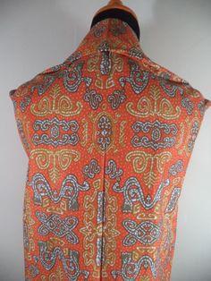 Kain Batik Motif Kombinasi Orange Kuning Emas Batik Cap tradisional handmade, bahan katun, ukuran: 1,15 x 2m