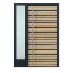 Haustür Small House Architecture, Exterior Doors, House Exterior, House Architecture Design, Modern Entryway, Wood Gate, Wooden Door Design, Modern Front Door, House Doors