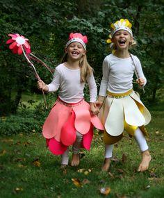 Easy flower costume