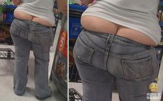 People of Walmart, what what double butt.