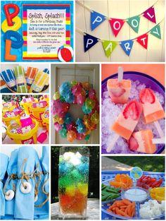 pool party ideas   Pretty Party Ideas: Pool party!!