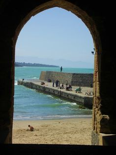 A window to the Sea, Cefalu, Sicily