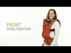 great video illustration re: using receiving blanket for infant carry in SSC