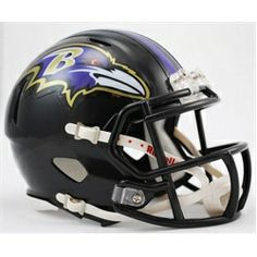 Baltimore Ravens Mini Riddell Speed Football Helmet