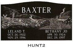 Laser etched designs, samples of laser etched design for headstone memorials.