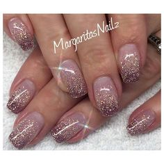 Nail Art Ombre nails might be fantastic match to your clothes or accessories. The brief oval nails w