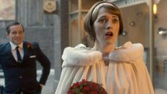Call the Midwife Series 6 episode 8 - Barbara and Tom got married. Call The Midwife, Midwifery, Pride And Prejudice, Cloak, Favorite Tv Shows, Got Married, Actors & Actresses, Movie Tv, Tv Series