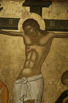 The Crucifixion. Byzantine and Christian Museum.Iconographic and stylistic features of this icon suggest that it originates from the milieu of the Cretan artist Emmanuel Lambardos who was active in the late - early c. 101 x 81 cm. Giovanni Bellini, Pieter Bruegel The Elder, Orthodox Icons, Sacred Art, African Art, Christian, Statue, Artist, Community
