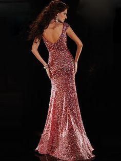 Trumpet Mermaid Sleeveless Sweetheart Sequins Floor-Length Dresses 165d2c75f139
