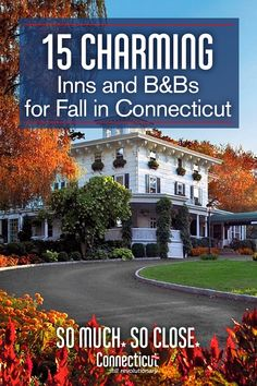 One of the best ways to experience fall in New England is to stay in a place that reflects. Vacation Destinations, Vacation Trips, Dream Vacations, Vacation Spots, The Places Youll Go, Great Places, Beautiful Places, Places To Visit, New England Fall