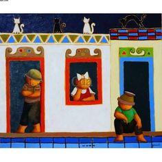 Obras de Arte de Ricardo Ferrari - Ferrari - Catálogo das Artes | Catálogo das Artes Ferrari, Geek Stuff, Frame, Painting, Decor, Antiquities, Comics, Artworks, Artists