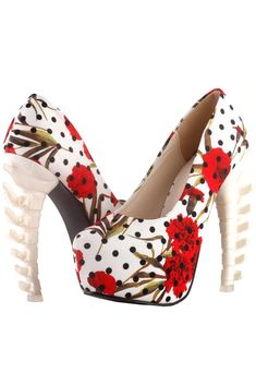 Show Story Graphic Printed Bone High Heels Discount Designer Shoes, Jane Clothing, Shoe Manufacturers, London Shoes, Only Fashion, Girl Fashion, Graphic Design Print, Pin Up Style, Buy Shoes