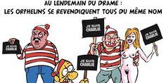 """Gironde : voici vos dessins en hommage à """"Charlie Hebdo"""""""