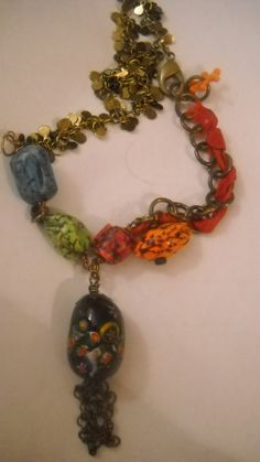Polymer Clay with Milli Fiori Focal