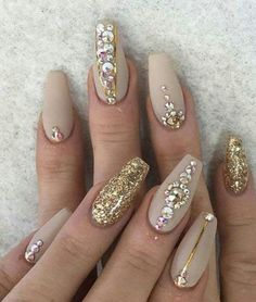 Crystal Short Coffin Nails  ✨Culture and Tribe✨