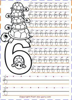 free printables numbers tracing worksheets 6 for kindergarten.tracing numbers for kids.preschool numbers tracing worksheets coloring pages. print out numbers tracing worksheets handwriting practice sh Tracing Worksheets, Kids Math Worksheets, Handwriting Worksheets, Number Worksheets, Alphabet Worksheets, Handwriting Practice, Printable Coloring Pages, Coloring Pages For Kids, Kindergarten Math Games