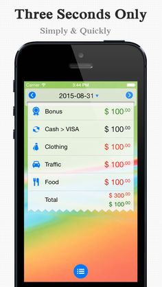 iphone free expense tracking app