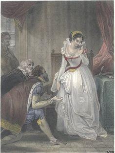 """Lady Jane Grey Declining The Crown"""