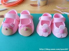 Template for Fondant Baby Shoe   ... baby bootie cake decoration cake topper fondant baby shoes gumpaste