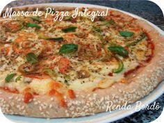 Pizza Integral Vegetariana
