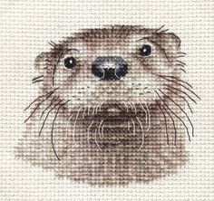 An Original counted cross stitch kit by Fido Stitch Studio. This is a counted cross stitch, i.e. the design is not prnted on the fabric. This 'mini' stitch kit could be completed in a few hours. This kit contains everything you need to complete your project.   eBay!