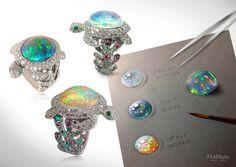 Mathon Paris design studio / Luckyanimals Collection / http://mathon-paris.com/
