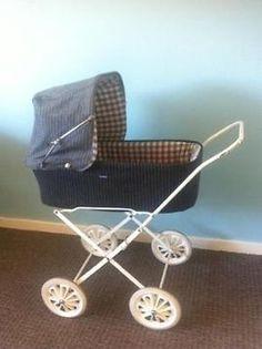 Retro kinderwagen, poppenwagen Prams And Pushchairs, Dolls Prams, Baby Carriage, Baby Strollers, Children, Vintage, Kids Wagon, Baby Buggy, Baby Prams