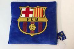 Vankúš Fleece 35x35 cm Club FCB modrý