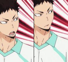 || AIRYUU ON PINTEREST || Haikyuu!! Second season; Iwaizumi Hajime #anime #iwaizumi #iwaizumihajime #aoba #aobajosai hot
